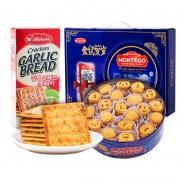KOKOLA 印尼进口黄油皇冠曲奇饼干蓝罐礼盒 1124g 48元包邮(需用券)¥48