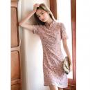MEFOUND 棉立方 20BE1493 女士改良旗袍连衣裙 99元包邮¥99