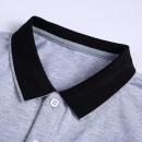 乔诺恩男士夏季新款短袖T恤polo衫 时尚型男纯色打底衫休闲男学生99元