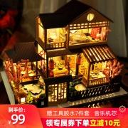 diy小屋日式别墅樱庭居手工制作 ¥86¥84