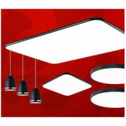 nvc-lighting 雷士照明 LED黑色苹果灯具套餐 黑潮 三室两厅旗舰款套餐四599元