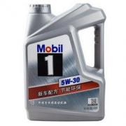 Mobil 美孚 美孚1号 SN 5W-30 全合成机油 4L