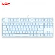 iKBC F-87 时光机 白色背光机械键盘 (Cherry轴体、白色)
