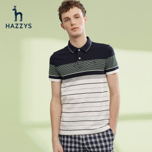 LG时装旗下中高端品牌 Hazzys 哈吉斯 男商务休闲Polo衫