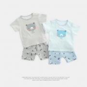 CICIIBEAR 齐齐熊 QQ4526 宝宝短袖套装 28元包邮(前15分钟)