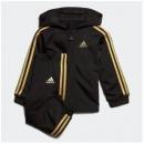 1日0点、61预告: adidas 阿迪达斯 婴童训练连帽拉链运动套装142元包邮