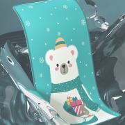 MENGRUIGE 梦瑞格 婴儿凉席 100cm×56cm 19.9元包邮(需用券)