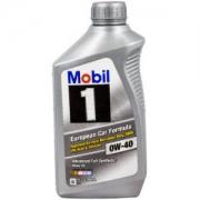 Mobil 美孚1号 0W-40SN 全合成机油 1QT *11件