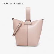61预售:CHARLES&KEITH CK2-50270051 拼接宽肩带子母袋手提包