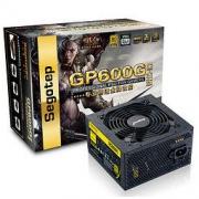 Segotep 鑫谷 GP600G 黑金版 电脑电源 金牌(90%) 500W 非模组化