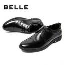 61预告、京东PLUS会员: BeLLE 百丽 6BT01CM9 男士商务正装皮鞋388.55元包邮(需用券)