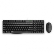 RAPOO 雷柏 X125S 有线键鼠套装 黑色