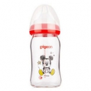 pigeon 贝亲 Disney系列 AA138 然实感宽口径玻璃彩绘婴儿奶瓶70元(需用券)