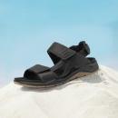 ECCO 爱步 X-Trinsic全速系列 880614 男士牦牛皮凉鞋Prime直邮到手445.16元(天猫906元)