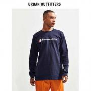 21点:Champion UO-48494785-001 美版男士刺绣长袖T恤