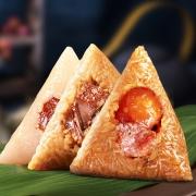 鲜记 蜜枣粽/鲜肉粽 150g*4个+ 小圆饼一袋 14.9元包邮(需用券)¥15