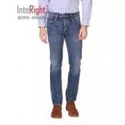 InteRight 4821955 男士水洗牛仔裤 *2件99元包邮(合49.5元/件)