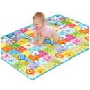 hd小龙哈彼 爬行垫双面加厚环保婴儿宝宝爬爬垫防滑游戏地垫LFP400-N18074元