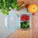 iCook 玻璃分隔饭盒 700ml 送小麦秸秆餐具 14.8元包邮(需用券)¥15