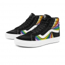 VANS 范斯 VN0A4U3DWN7 高帮彩色印花滑板鞋288元包邮(需用券)