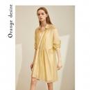 Orange Desire白色衬衫连衣裙女夏2020新款天丝设计感女神范修身 *3件706.3元(