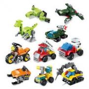 ENLIGHTEN 启蒙 锋速极变战队/超变机动队 积木玩具(三款可选)