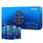 400gx3罐 MeadJohnson Nutrition 美赞臣 蓝臻 3段 幼儿配方奶粉