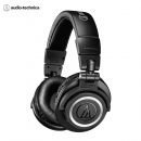 Audio-technica 铁三角 ATH-M50XBT 专业头戴监听蓝牙耳机 无线便携折叠 黑色