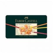 Faber-Castell 辉柏嘉 POLYCHROMOS 110011 炫彩彩色铅笔 120色 金属盒装