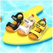 B.Duck 小黄鸭男童凉鞋沙滩鞋79元包邮(需用券)