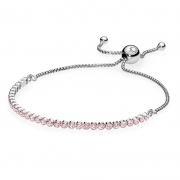 PANDORA 590524PCZ 闪耀粉色手链绳