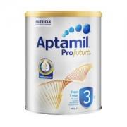 PLUS会员:Aptamil 澳洲爱他美 白金版 婴幼儿奶粉3段 900g*4件688.04元含税包邮(双重优惠,合172.01元/件)