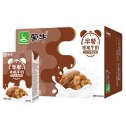 蒙牛 早餐奶核桃味利乐包  250ml×16盒