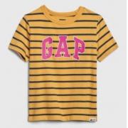 Gap 盖璞 577650 男童纯棉LOGO圆领短袖T恤 低至41元/件
