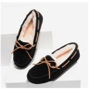考拉工厂店 女士蝴蝶结休闲毛里乐福鞋179.1元