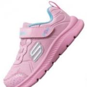 Skechers斯凯奇 新款女童魔术贴运动鞋 82173N