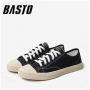 BASTO 百思图 CJV01CM9 男士帆布鞋143.04元