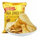 60g x11件,Calbee卡乐比 韩国进口 海太蜂蜜黄油薯片103.6元(合9.4元/件)