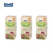 maeil 每日宝宝果汁有机水果味饮料辅食 125ml*3盒