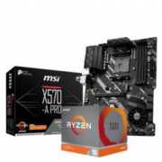 3日0点: AMD R9 3900X CPU处理器 + MSI 微星 X570-A PRO 主板 板U套装