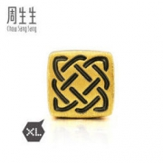 Chow Sang Sang 周生生 Charme串珠系列 86523C XL守护转运珠