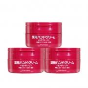 19日0点前1小时4000件:日本松本清 资生堂尿素护手霜  红罐100g*3罐