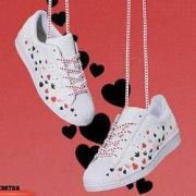 adidas 阿迪达斯 情人节联名款 SUPERSTAR FV3288 男/女款运动鞋