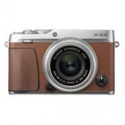 FUJIFILM 富士 X-E3 无反相机套机(XF23mm F2镜头)棕色
