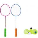 兰威 羽毛球拍1对+羽毛球3个 14.9元包邮(需用券/双重优惠)¥15
