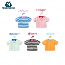 88VIP:Mini Balabala 迷你巴拉巴拉 男女童短袖T恤  *2件 56.9元包邮¥70