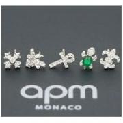APM Monaco AE10731XKG 海龟蜜蜂组合耳钉