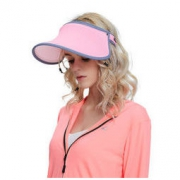 VVC CM99106 女士防紫外线遮阳帽 成人/玫红色 56-58cm