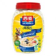 SEAMILD 西麦 冲饮谷物 即食燕麦片 1000g *7件133.17元(合19.02元/件)