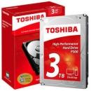 TOSHIBA 东芝 P300系列 7200转 64M SATA3机械硬盘 3TB499元包邮